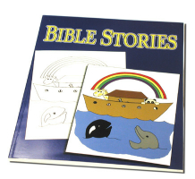 COLORING BOOK--BIBLE STORIES