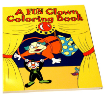COLORING BOOK--FUN CLOWN