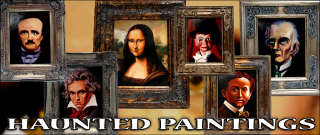 HAUNTED PAINTING--SPOOKY