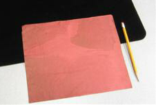 FLASH PAPER--RED