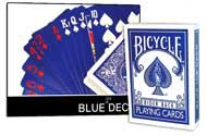 PLAYING CARDS--BICYCLE BLUE ICE DECK