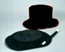 TOP HAT--FOLDING, JUNIOR