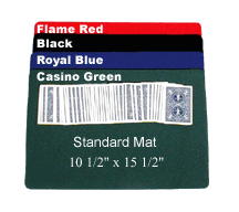 CLOSE-UP PAD--MAGICIAN'S CHOICE STANDARD, CASINO GREEN