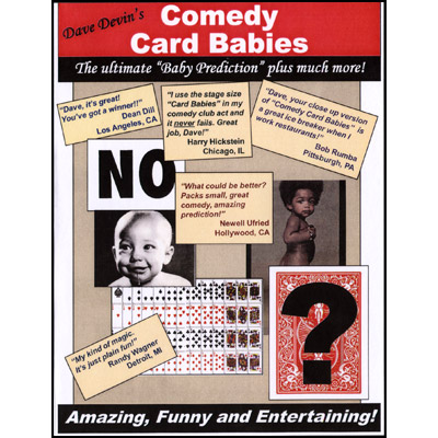 COMEDY CARD BABIES--LARGE