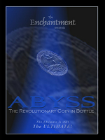 ABYSS--THE REVOLUTIONARY COIN IN BOTTLE