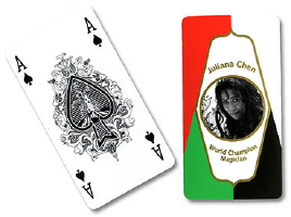 FANNING CARDS--4 COLOR