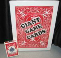 GIANT STAGE SIZE JUMBO CARD DECK