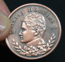 HOUDINI COLLECTOR'S COIN--BRONZE