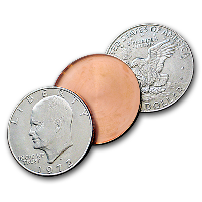 EXPANDED EISENHOWER DOLLAR SHELL--ULTIMATE, HEADS