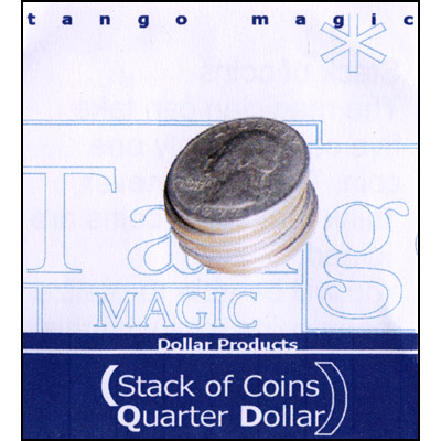TANGO STACK OF COINS--QUARTER DOLLAR