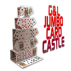 CARD CASTLE--JUMBO, BICYCLE