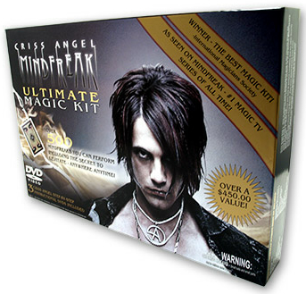 MAGIC SET--CRISS ANGEL MINDFREAK ULTIMATE MAGIC KI