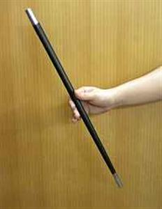APPEARING WAND--STAINLESS STEEL, POWDER COATED