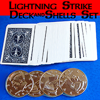 LIGHTNING STRIKE DECK & COIN SET