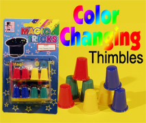 COLOR CHANGING THIMBLE