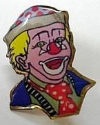 LAPEL PIN--CLOWN