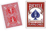 BICYCLE DECK--POKER, RED