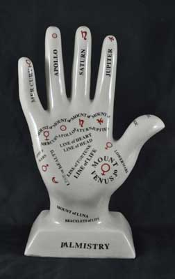 PALMISTRY HAND--11""