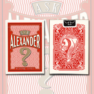 PLAYING CARDS--ASK ALEXANDER, POKER