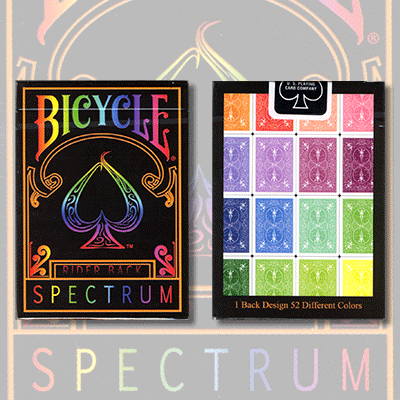 PLAYING CARDS--BICYCLE SPECTRUM