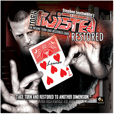 TORN, TWISTED, AND RESTORED W/DVD