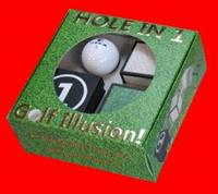 HOLE IN ONE GOLF ILLUSION W/DVD
