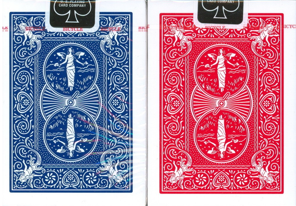 PLAYING CARDS--BICYCLE MAIDEN, POKER--BLUE