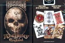 PLAYING CARDS--BICYCLE ALCHEMY ENGLAND DECK, POKER