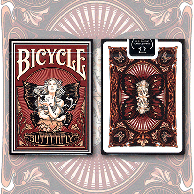 PLAYING CARDS--BICYCLE BUTTERFLY