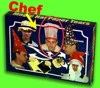 PAPER HAT TEARS--CHEF HAT