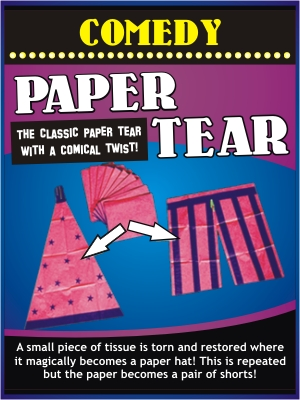 COMEDY PAPER TEAR COMBO