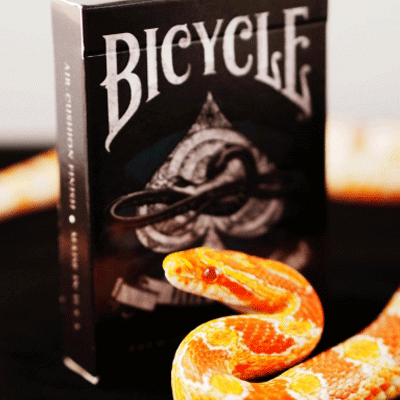PLAYING CARDS--BICYCLE VENOM STRIKE DECK