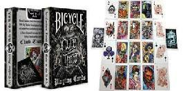 PLAYING CARDS--BICYCLE CLUB TATTOO DECK