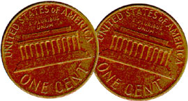 TWO TAILED PENNY