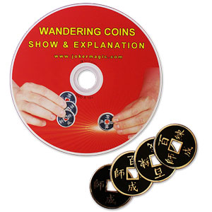 WANDERING COINS W/DVD