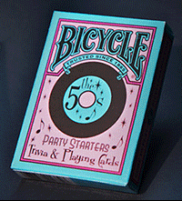 PLAYING CARDS--BICYCLE DECADES 50's POKER