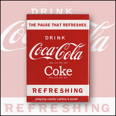 PLAYING CARDS--COCA COLA, POKER