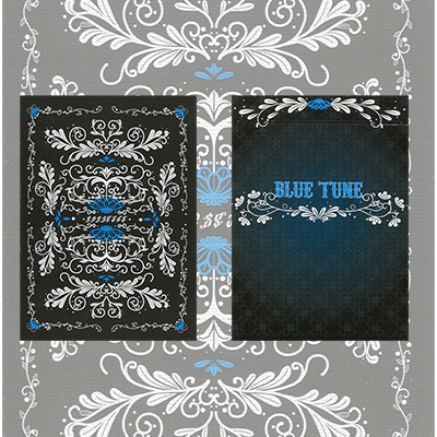 PLAYING CARDS--BLUE TUNE POKER