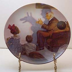 SHADOW ARTIST COLLECTOR PLATE