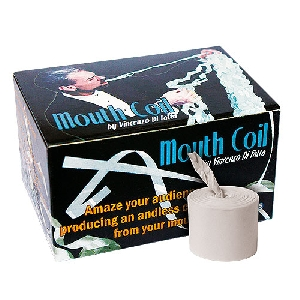 MOUTH COIL--WHITE 12 PC.