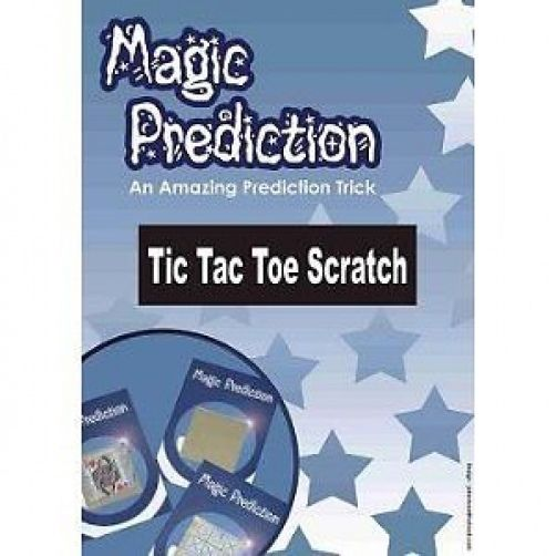 MAGIC PREDICTION--TIC TAC TOE SCRATCH