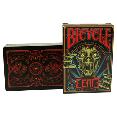 PLAYING CARDS--BICYCLE EERIE DECK, RED