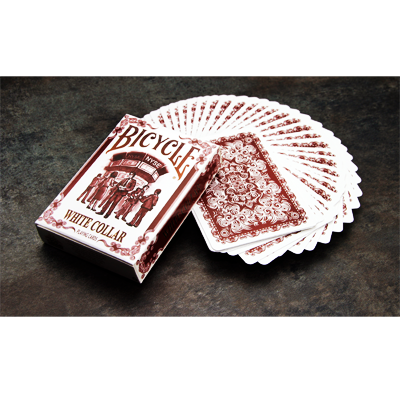 PLAYING CARDS--BICYCLE WHITE COLLAR DECK