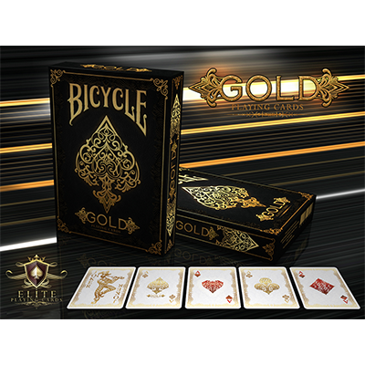 PLAYING CARDS--BICYCLE GOLD