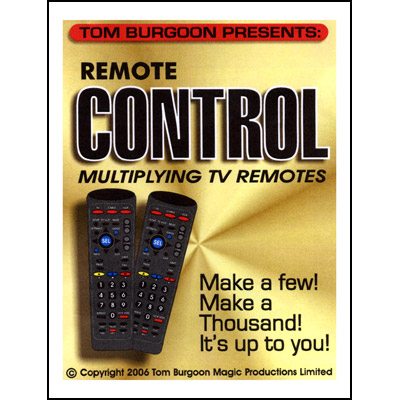 REMOTE CONTROL--MULTIPLYING T.V. REMOTES