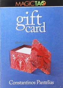 GIFT CARD (GIMMICK & ONLINE INSTRUCTIONS)