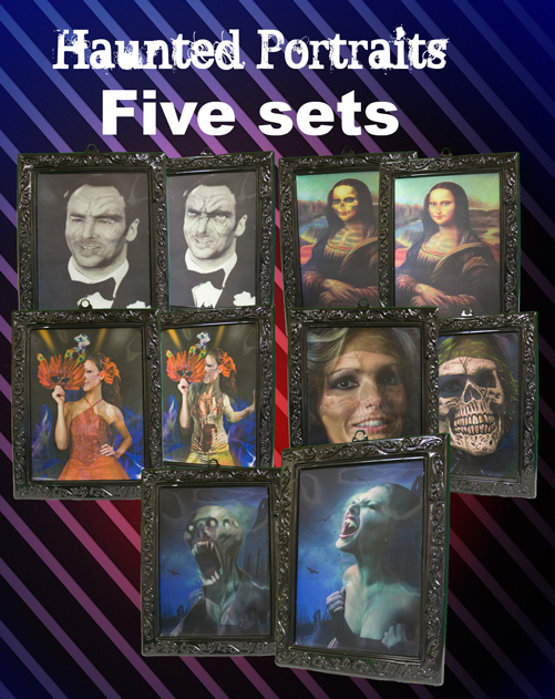 HAUNTED PORTRAITS--5 SETS