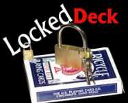 LOCKED DECK--BICYCLE