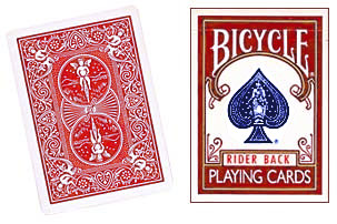 BICYCLE BOX--EMPTY, RED