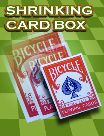 SHRINKING CARD BOX--BICYCLE